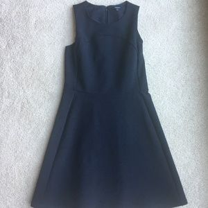 Madewell Adore Me Dress-Navy